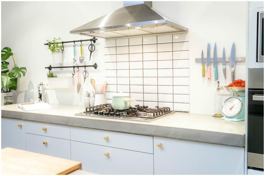 Witte Keuken Schilderen : Je keuken schilderen mijn tips en trics
