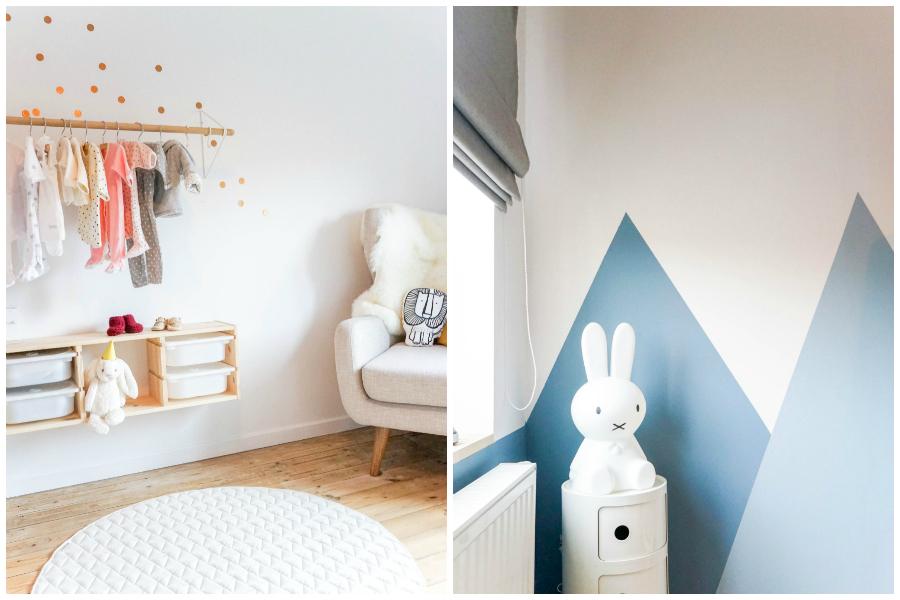 Lambrisering Schilderen Kinderkamer : Patronen schilderen op de muren doe je zo